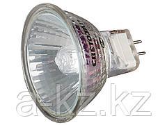 Лампа галогенная, СВЕТОЗАР, с защитным стеклом, цоколь GU5.3, диаметр 51мм, 50Вт, 220В, SV-44815