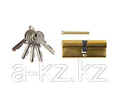 Механизм цилиндровый ЗУБР МАСТЕР, тип ключ-ключ, цвет латунь, 5-PIN, 80мм, 52101-80-1