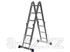 Лестница стремянка - трансформер СИБИН 38851, алюминиевая 4 x 3