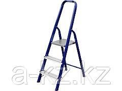 Лестница стремянка СИБИН 38803-03, стальная, 3 ступени, 60 см