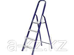 Лестница стремянка СИБИН 38803-04, стальная, 4 ступени, 82 см