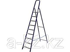 Лестница стремянка СИБИН 38803-09, стальная, 9 ступеней, 187см