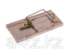 Мышеловка STAYER STANDARD, деревянное основание, средняя, 40501-M