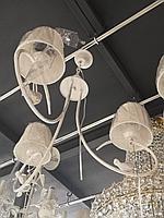 Люстра Птичка в стиле Прованс на 3 лампы