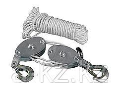 Полиспаст STAYER 50501, подъем до 3 м, вес до 200 кг
