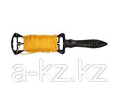 Шнур для строительного отвеса STAYER для строительных работ, на катушке, 30м, 2-06411-030
