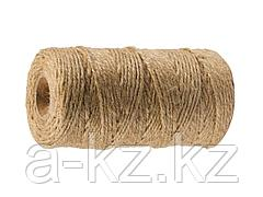 Шпагат джутовый ЗУБР 50105-060, 60 м