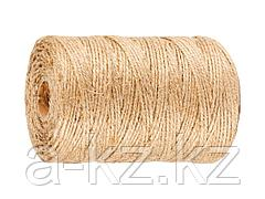 Шпагат джутовый ЗУБР 50105-110, 110 м