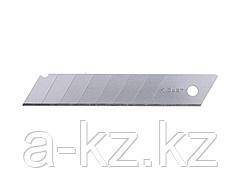 Сменное лезвие сегментированное ЗУБР 09710-18-10, ЭКСПЕРТ, улучшенная инструментальная сталь У8А, в боксе, 18 мм, 10 шт.
