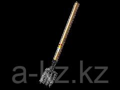 Вилы GRINDA кованые, садовые, с черенком, 180х220x1300мм
