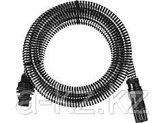 Шланг всасывающий армированный GRINDA 429007-1-4, со спиралью ПВХ, с фильтром и обратным клапаном, 1, 3,5 м
