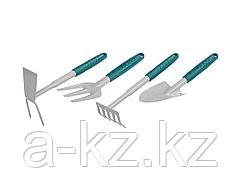 Набор садовых инструментов RACO 4225-53/498, 4 предмета: совок 4207-53481, мотыжка -53486, грабли веерные -53492, вилка посадочная -53496