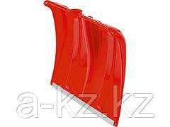 Лопата снеговая пластиковая с алюминиевой планкой, без черенка, 385мм, красная, СИБИН 421832