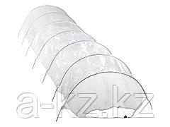 Парник садовый GRINDA 8-422359, в комплекте: стальные оцинкованные дуги и нетканый материал спанбонд 70 г/м2, 400x65x45 см