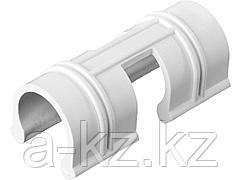 Крепления для парника GRINDA 422317-20, комплект зажимов для крепления пленки к каркасу парника d=20 мм, цвет белый, 12 шт.