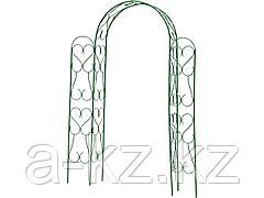 Шпалера арка GRINDA 422253, АМПИР угловая, разборная, 240х120х36см
