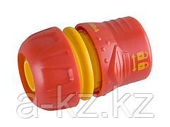 Соединитель GRINDA Premium с запирающим механизмом, пластмассовый с TPR, 3/4, 8-426428