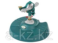 Распылитель для полива RACO 4260-55/724, импульсный, латунный на подставке, 490 кв.м