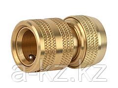 Соединитель RACO Profi (шланг-насадка) латунный с автостопом, 1/2, 4246-55005B