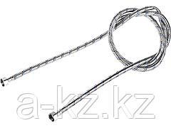 Подводка гибкая для воды ЗУБР 51005-G/G-200, оплетка из нержавеющей стали, г/г 1/2 - 2 м