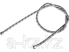 Подводка гибкая для воды ЗУБР 51005-G/S-150, оплетка из нержавеющей стали, г/ш 1/2 - 1,5 м