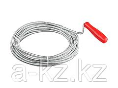 Трос сантехнический ЗУБР 51902-05 МАСТЕР, длина 5 м, диаметр 6 мм