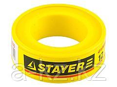 Фумлента STAYER MASTER, плотность 0,16 г/см3, 0,075ммх12ммх10м, 12360-12-016