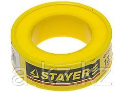 Фумлента STAYER MASTER, плотность 0,25 г/см3, 0,075ммх12ммх10м, 12360-12-025