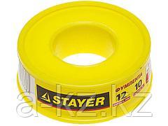 Фумлента STAYER MASTER, плотность 0,40 г/см3, 0,075ммх12ммх10м, 12360-12-040