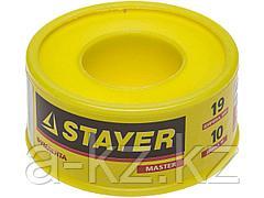 Фумлента STAYER MASTER, плотность 0,40 г/см3, 0,075ммх19ммх10м, 12360-19-040