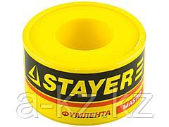 Фумлента STAYER MASTER, плотность 0,40 г/см3, 0,075ммх25ммх10м, 12360-25-040