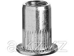 Заклепки стальные резьбовые с насечками ЗУБР 31317-04, ПРОФИ, М4, 1000 шт.