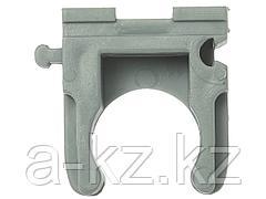Клипса ЗУБР для металлопластиковых труб, пластмассовая 25мм, 100шт, 4-44951-26-100