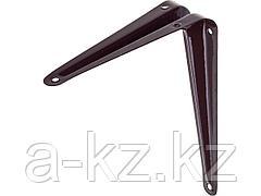 Уголок мебельный металлический STAYER MASTER, 150х125мм, коричневый, 37402-3