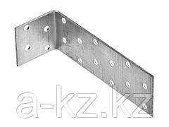 Перфорированный уголок ЗУБР МАСТЕР равносторонний, 40х80х80мм, 20 шт., 310205-040-080