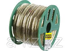 Трос стальной в оплетке ПВХ STAYER 30410-25, MASTER, d=2,5 мм, L=200 м