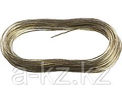 Трос стальной в оплетке ПВХ STAYER 50145-2.5, MASTER, 20 метров, 2,5 мм