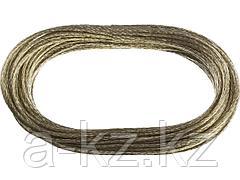 Трос стальной в оплетке ПВХ STAYER 50145-3, MASTER, 20 метров, 3 мм