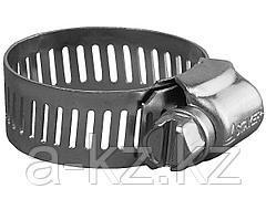 Хомут металлический STAYER стальной оцинкованный, ширина ленты 12,7мм, 91-114мм, 2шт, 37802-091-114-2