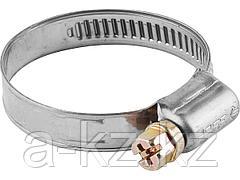 Хомут металлический ЗУБР ЭКСПЕРТ, нерж. сталь, накатная лента 9 мм, 8-14 мм, 5 шт, 3787-08-14