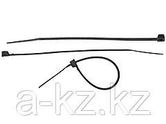 Кабельные стяжки пластиковые хомуты ЗУБР 4-309037-25-200, тип 7, черные, 2,5 х 200 мм, 50 шт