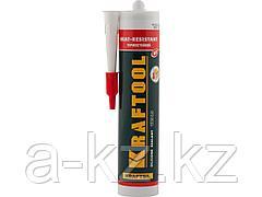 Герметик для двигателя силиконовый KRAFTOOL 41259, красный, температуростойкий (от -62 С до 275 С), 300 мл