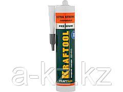 Клей монтажный KRAFTOOL 41343_z01, жидкие гвозди, KN-901, сверхсильный универсальный, для наружных и внутренних работ, 310 мл