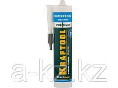 Клей монтажный KRAFTOOL 41345_z01, жидкие гвозди, KN-915, водостойкий с антисептиком, для ванн и душевых, 310 мл