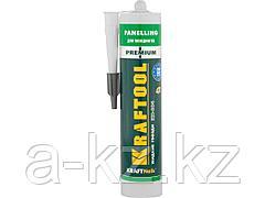 Клей монтажный KRAFTOOL 41349_z01, жидкие гвозди, KN-604,  для молдингов, панелей и керамики, без растворителей, 310 мл