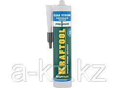 Клей монтажный KRAFTOOL 41342, жидкие гвозди, KN-601T, суперсильный, прозрачный, 310 мл