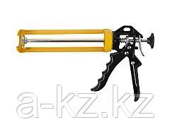 Пистолет для герметика полуоткрытый STAYER 0671, алюминиевый, 310 мл
