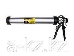 Пистолет для герметика закрытый STAYER 0673-60, для туб, алюминиевый корпус, 600 мл