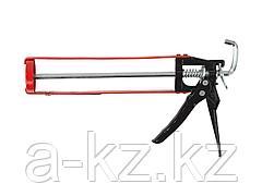 Пистолет для герметика скелетный ЗУБР 06631, усиленный, шестигранный шток, 310 мл