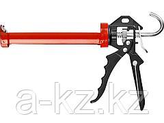Пистолет для герметика полуоткрытый ЗУБР 06635, 310 мл